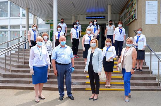Тимофеева оценила помощь социальных работников в период пандемии коронавируса