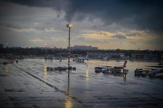 В Москве из-за непогоды были задержаны и отменены более 30 рейсов