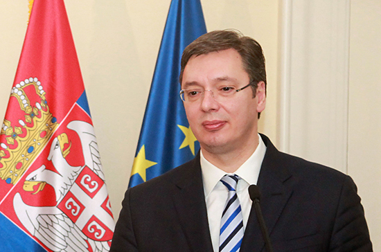 Вучич объявил о победе своей партии на выборах в парламент Сербии
