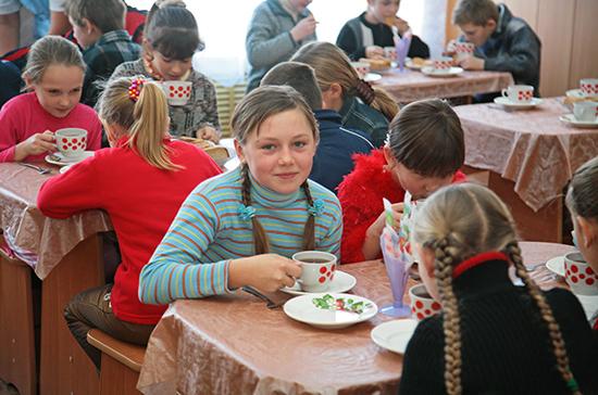 В 2020 году на горячее питание школьников выделят 22 млрд рублей