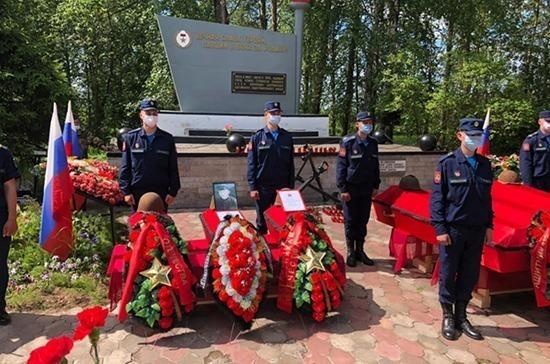 Под Гатчиной перезахоронили останки 37 красноармейцев