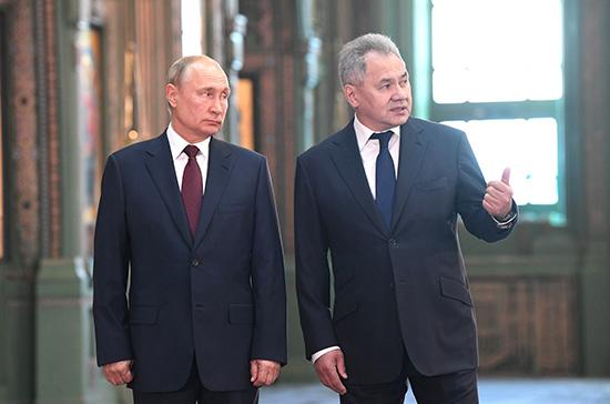 Президент осмотрел подмосковный музейный комплекс «Дорога памяти»