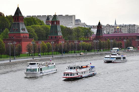 Пассажирская навигация по Москве-реке возобновится 23 июня