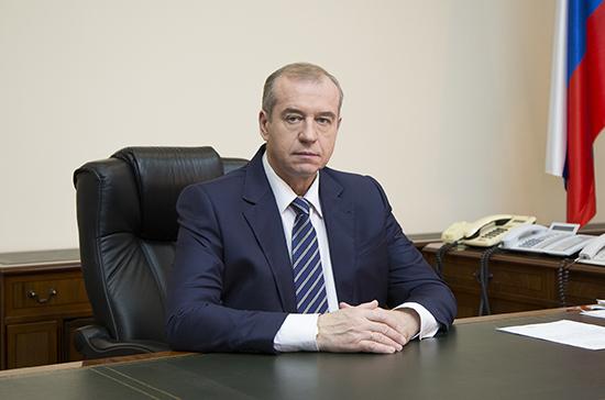 Экс-глава Приангарья Левченко попросил Путина допустить его к выборам