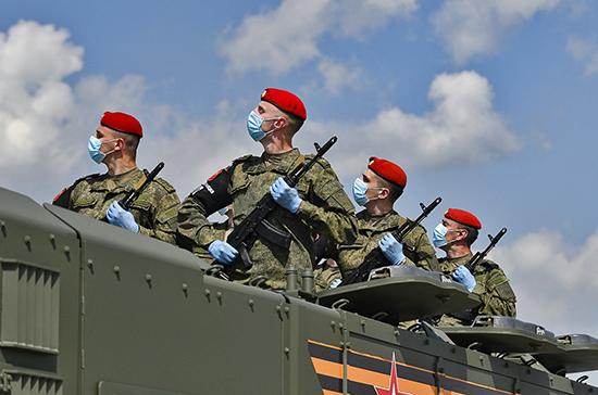 На Красной площади покажут оружие, которым была завоевана  Победа