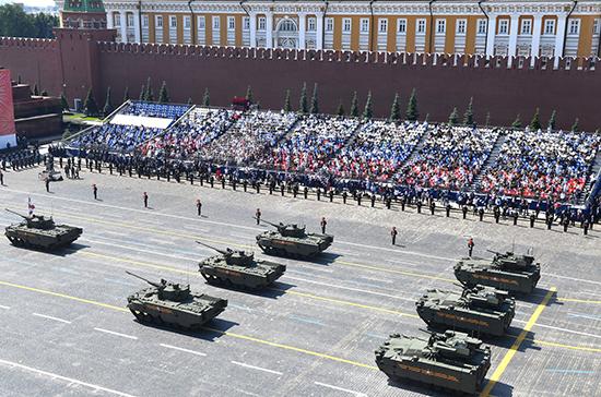 Онищенко назвал центральную трибуну Парада Победы в Москве самым безопасным местом в стране
