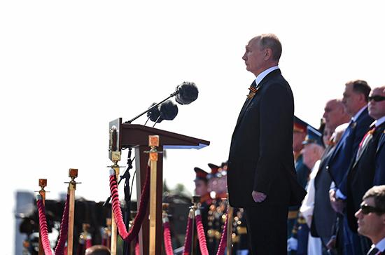 Путин: Мы никогда не забудем вклад союзников в приближение Победы