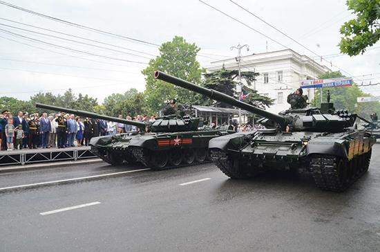 Сенатор назвал глупостью протесты Украины из-за парада в Крыму