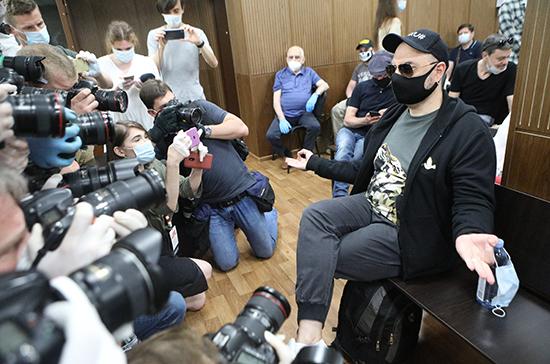 Режиссера Серебренникова приговорили к 3 годам условно