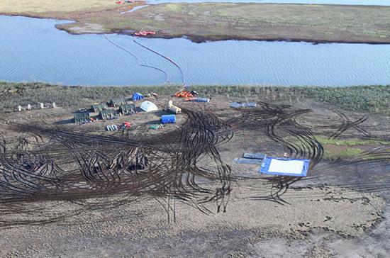 В водоемах Норильска впервые после ЧП не зафиксировали превышения допустимой концентрации топлива