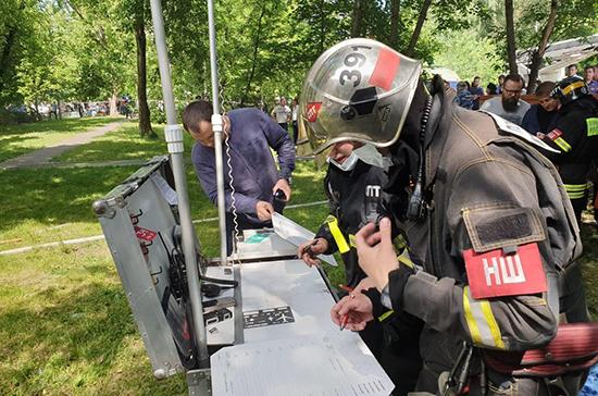 Утечка газа могла стать причиной взрыва в жилом доме в Москве