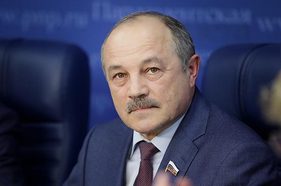 Николай Говорин предлагает создать общероссийский резерв защитных средств от коронавируса