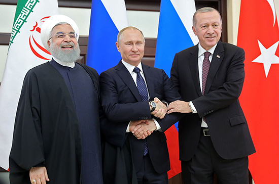 Путин, Эрдоган и Роухани 1 июля обсудят сирийское урегулирование