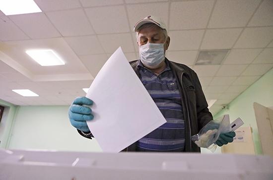 Обработано более 20% протоколов на голосовании по Конституции