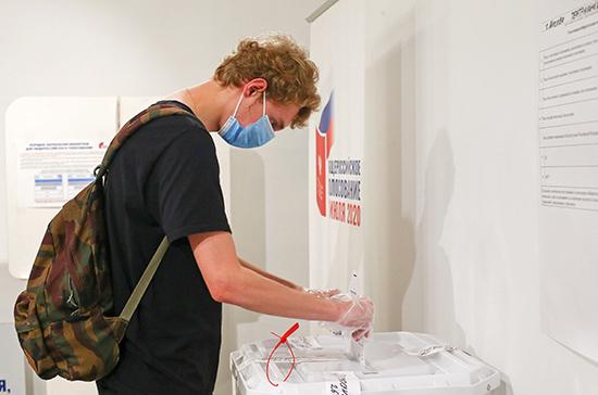 Около 70% избирателей Белгородской области проголосовали по поправкам в Конституцию
