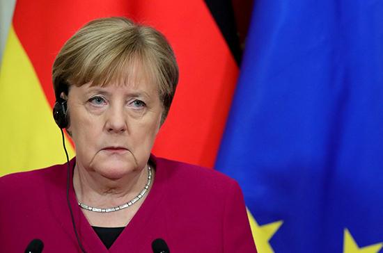 Меркель прокомментировала новые санкции США против «Северного потока -2»