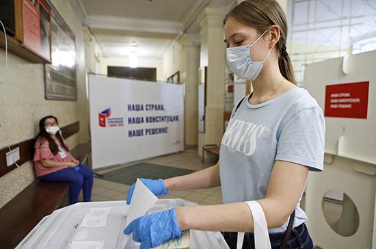 На Украине открылись участки для голосования по поправкам к Конституции России