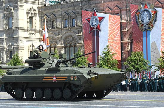 Опрос: почти 60% россиян смотрели Парад Победы по телевизору