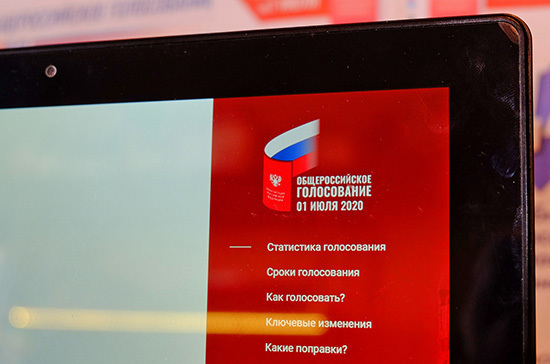 В электронном дистанционном голосовании по Конституции приняли участие 1,1 млн россиян