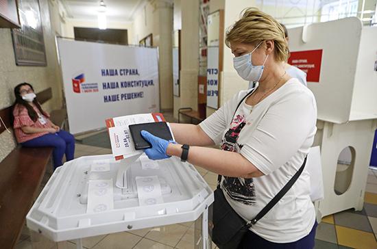 В Калининградской области поправки в Конституцию одобрили 72,5%