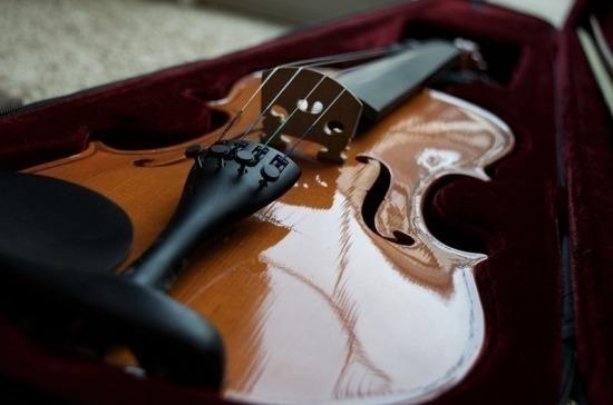 На ценные музыкальные инструменты предлагают наносить специальные метки