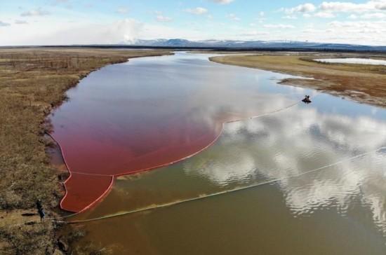 Росприроднадзор оценил ущерб экологии от разлива топлива в Норильске в 148 млрд рублей