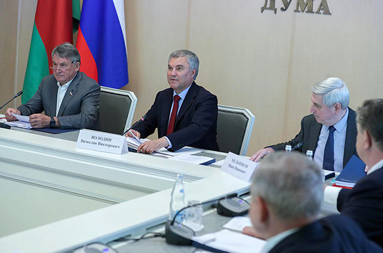 Спикер Госдумы рассказал, как Россия и Белоруссия защищают правду о Великой Победе