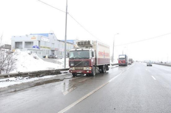 Госдума и Совет Федерации пришли к согласию по поводу весогабаритного контроля грузовиков