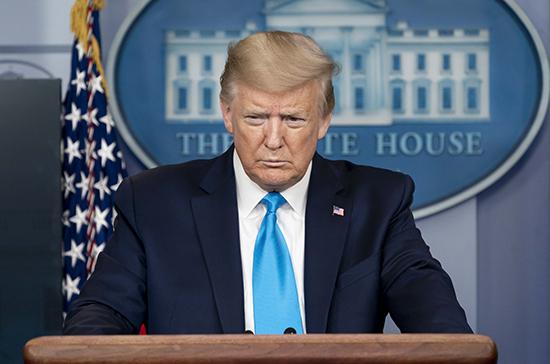 Президент США уведомил конгресс о выходе страны из ВОЗ