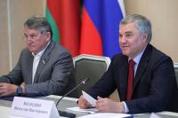 Володин: соглашение между Россией и Белоруссией о взаимном признании виз ратифицируют безотлагательно