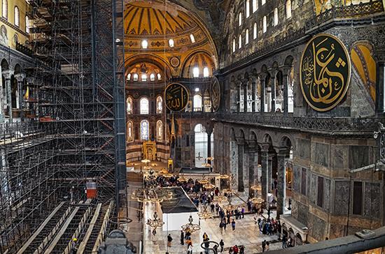 РПЦ обсудит статус Айя-Софии с Управлением по делам религий Турции