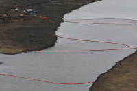 На Таймыре из-за разгерметизации трубы разлилось свыше 44 тонн авиатоплива