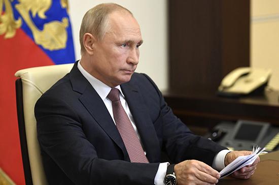 Путин пожелал скорейшего выздоровления заразившемуся COVID-19 президенту Бразилии