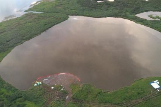 В посёлке на Таймыре ввели режим ЧС из-за разлива топлива