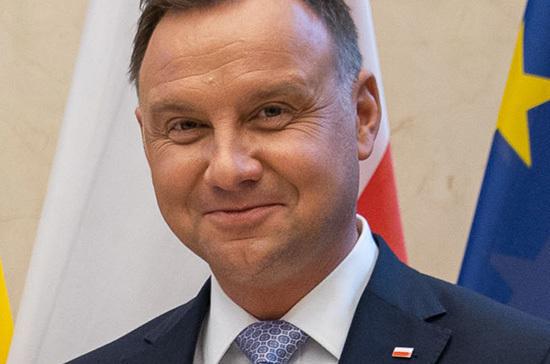 Президент Польши Анджей Дуда переизбрался на второй срок
