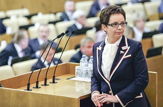 Савастьянова: парламент возьмёт под контроль работу над проектами по«регуляторной гильотине»