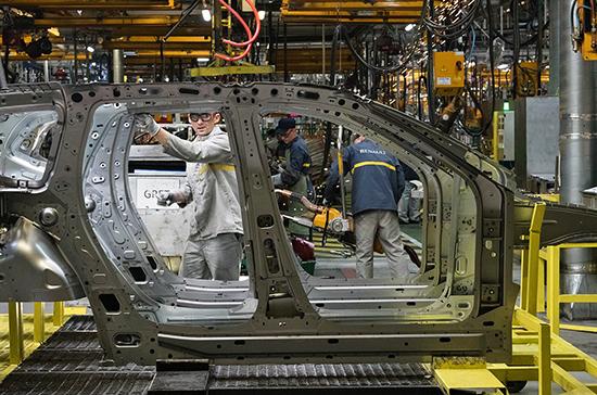 Объём промышленного производства в России в июне упал на 9,4%