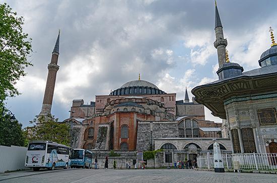 Собор Святой Софии останется под защитой минкультуры Турции