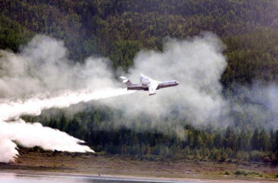 В России площадь лесных пожаров в этом году на 21% меньше, чем в прошлом