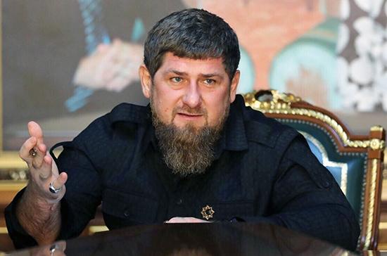Кадыров прокомментировал введение против него санкций США