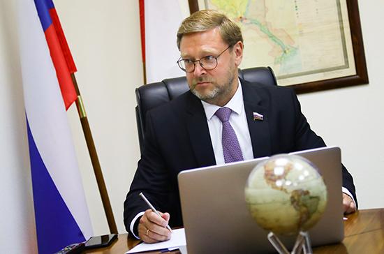 Косачев прокомментировал британский доклад о «российском вмешательстве»