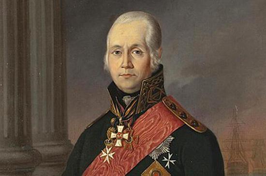 В Санкт-Петербург доставили мощи адмирала Ушакова