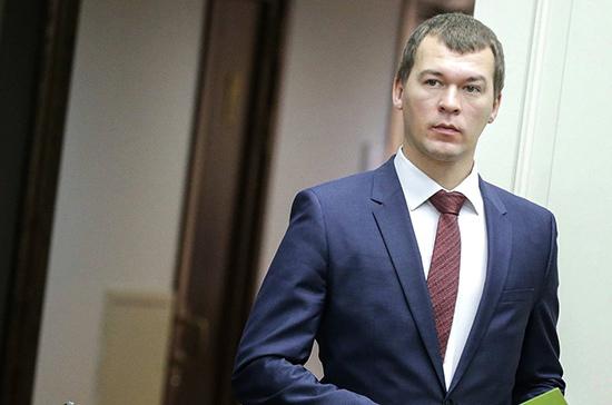 Мишустин намерен обсудить с Дегтяревым меры поддержки Хабаровского края