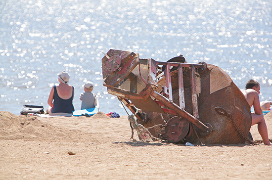 В Крыму проводят ежедневную проверку пляжей