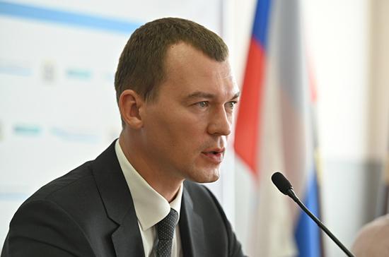 Дегтярев предложил снизить тарифы на услуги ЖКХ для жителей Хабаровского края