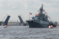 Власти Петербурга рекомендовали смотреть парад в День ВМФ по телевизору