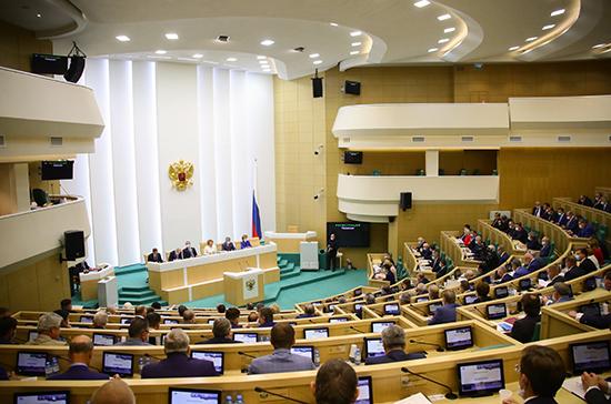 Два сенатора не смогли принять участие в заседании Совфеда из-за коронавируса