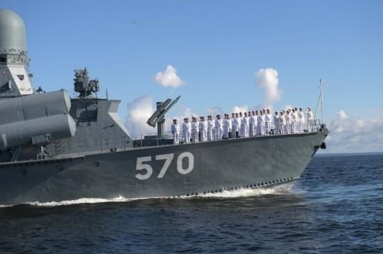 Путин рассказал о том, как возникла идея военно-морского парада на День ВМФ