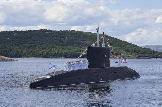 В Североморске прошел военно-морской парад в честь Дня ВМФ