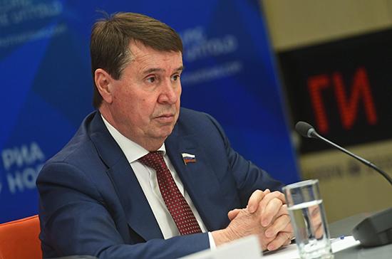Цеков ответил на обвинение ЕС в адрес России в милитаризации Крыма